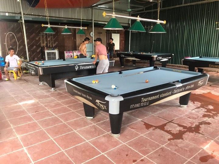 Billiards Hoàn Thúy lắp đặt 4 bàn Seri 5 tại Tây Mỗ, Hà Nội