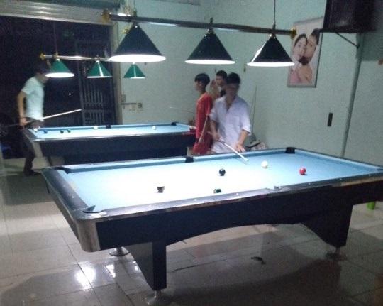 Billiards Hoàn Thúy lắp đặt 2 bàn 9018 Việt Nam tại Tuần Giáo, Điện Biên