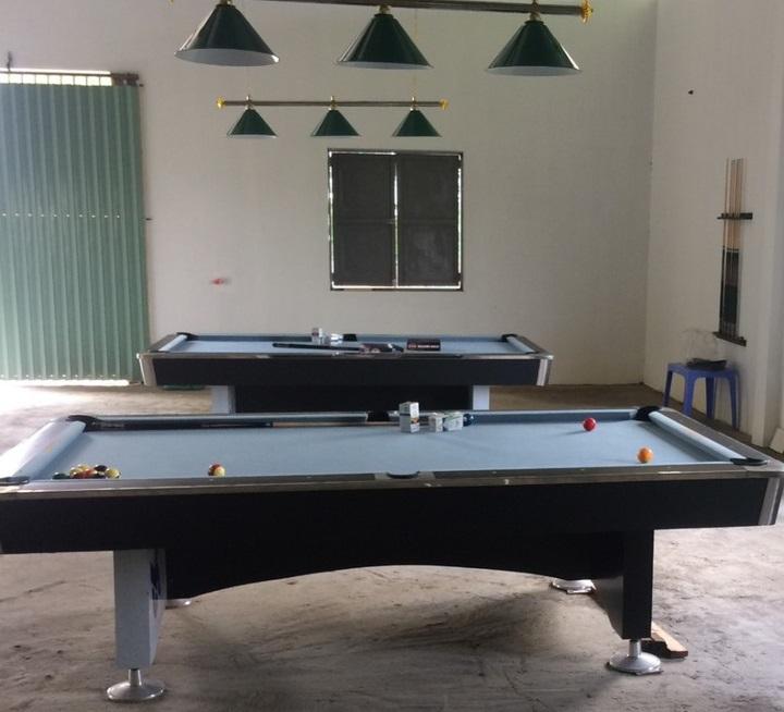 Billiards Hoàn Thúy lắp đặt 2 bàn 9018 Việt Nam tại Yên Dũng, Bắc Giang