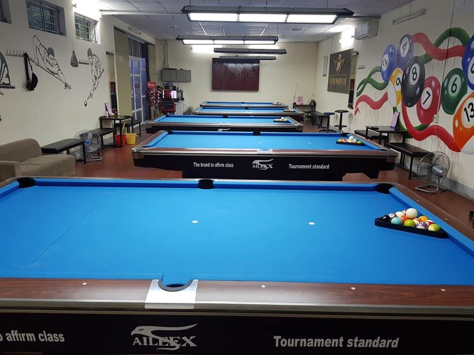 Billiards Hoàn Thúy lắp đặt 5 bàn aileex 9019 tại Bến Ngự, Nam Định