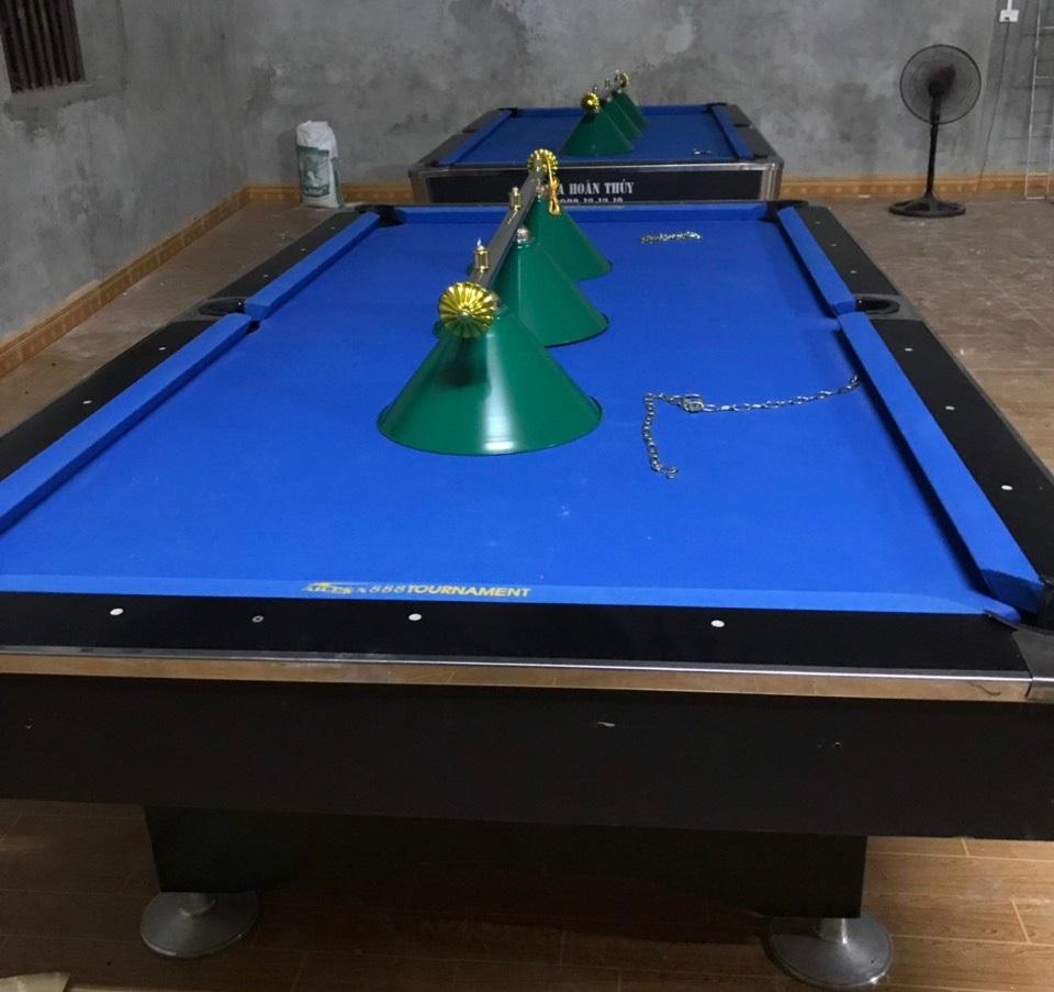 Billiards Hoàn Thúy lắp đặt 2 bàn 9018 tại Vị Xuyên, Hà Giang