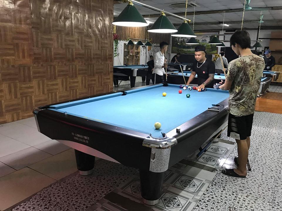 Lắp đặt bàn bi a tại Thái Bình
