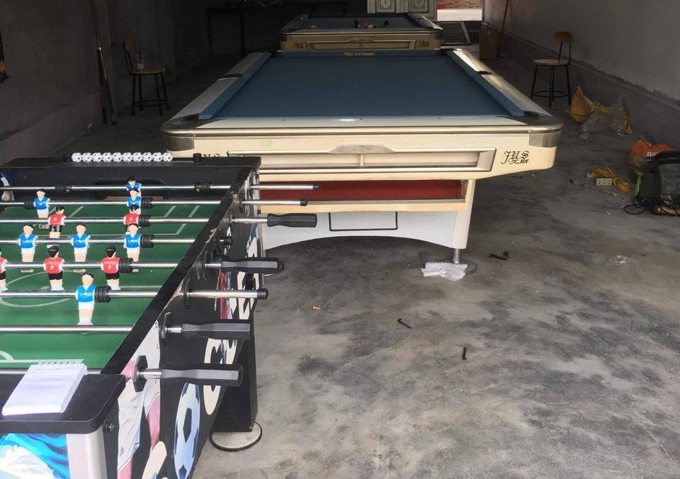 Billiards Hoàn Thúy lắp đặt 2 bàn 9019 nhập lướt tại Đồ Sơn, Hải Phòng