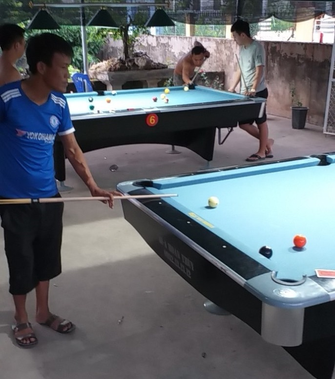 Billiards Hoàn Thúy lắp đặt 2 bàn seri 4 nhập lướt tại Quảng Yên, Quảng Ninh