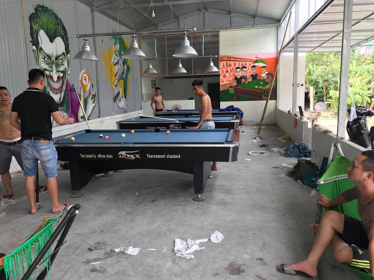 Lắp đặt bàn bi a tại Ninh Bình