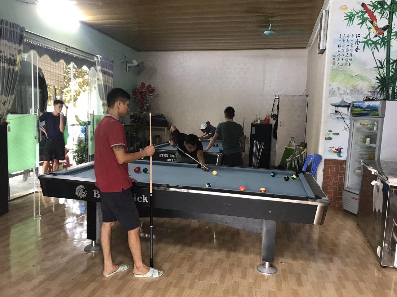 Billiards Hoàn Thúy lắp đặt 2 bàn 9018 tại Thanh Hà, Hải Dương
