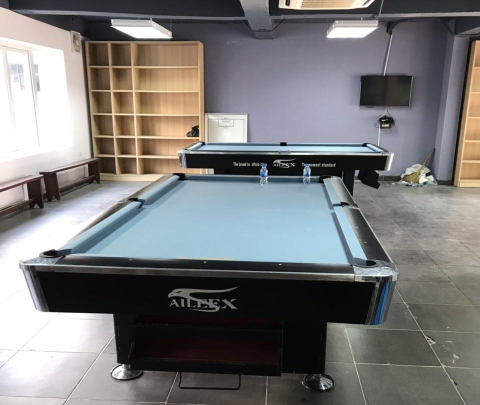 Billiards Hoàn Thúy lắp đặt 2 bàn aileex 9018 nhập lướt tại Thạch Thất, Hà Nội