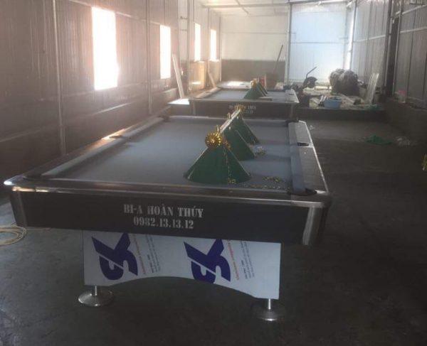 Thanh ký bàn bi a tại Lạng Sơn - Billiards Hoàn Thúy lắp đặt 2 bàn 9018 tại Hữu Lũng, Lạng Sơn