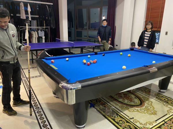 Mua bàn bida đẹp giá rẻ chất lượng cao tại Billiards Hoàn Thúy