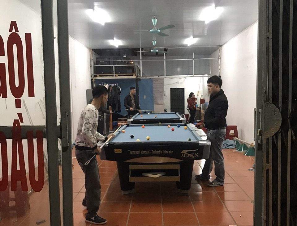 Billiards Hoàn Thúy lắp đặt 2 bàn 9017 aileex tại Móng Cái, Quảng Ninh