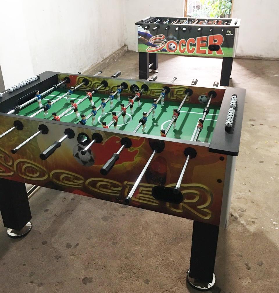 Billiards Hoàn Thúy lắp đặt 2 bàn 9018 Việt Nam và 2 bàn bi lắc nhập JX tại Quảng Ninh