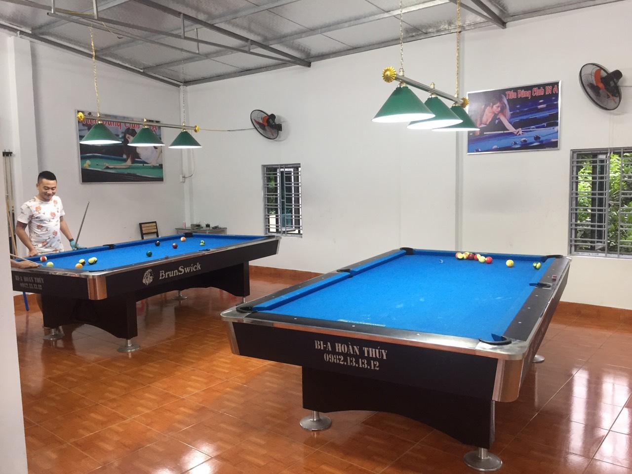 Billiards Hoàn Thúy lắp đặt 2 bàn 9018 Việt Nam tại Lý Nhân, Tỉnh Hà Nam