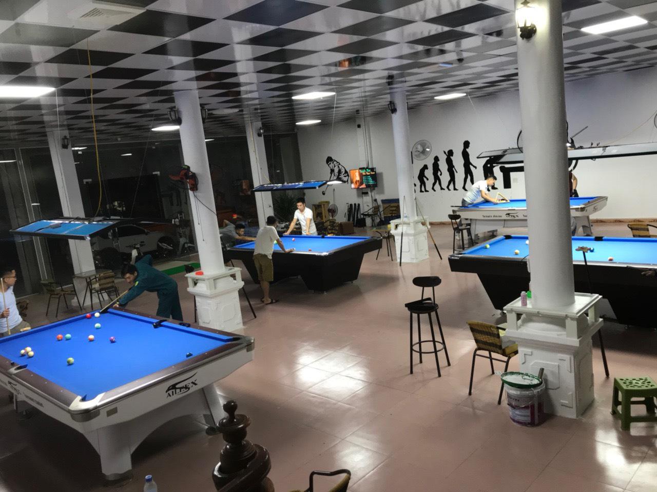 Billiards Hoàn Thúy lắp đặt 2 bàn aileex 9020 và 2 bàn Pool Yalin tại Mộc Châu, Sơn La