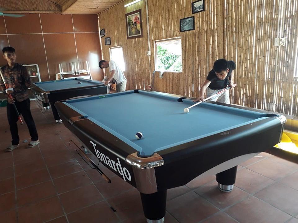 Billiards Hoàn Thúy lắp đặt 2 bàn bi a 9017 Tonardo tại Cổ Nhuế, Hà Nội