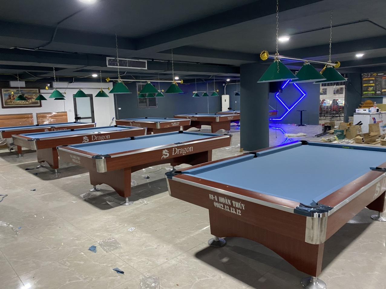 Billiards Hoàn Thúy lắp đặt 7 bàn 9018 tại Mễ Trì Hạ, Hà Nội