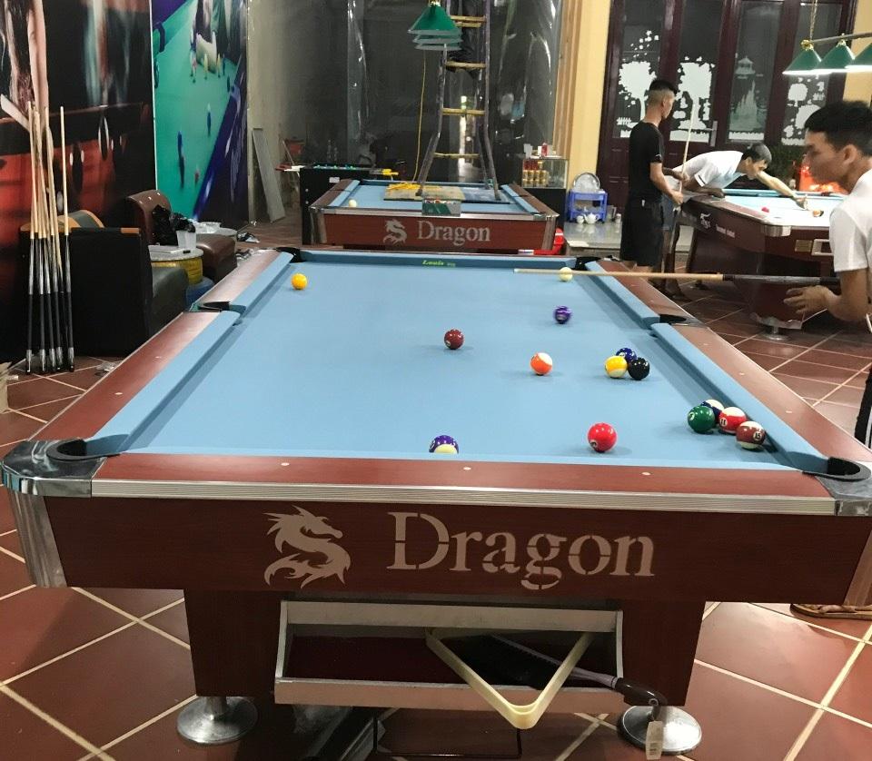 Billiards Hoàn Thúy lắp đặt 2 bàn Dragon 9018 tại Gia Lộc, Hải Dương