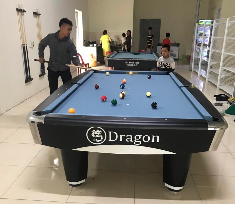 Billiards Hoàn Thúy lắp đặt 2 bàn 9017 - 9018 tại Thiệu Hoá, Thanh Hoá