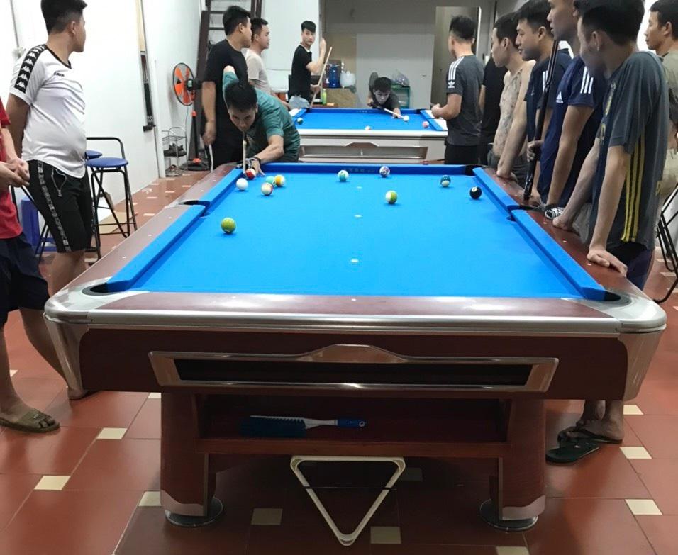 Billiards Hoàn Thúy lắp đặt 2 bàn 9020 và 9021 tại Từ Sơn, Bắc Ninh