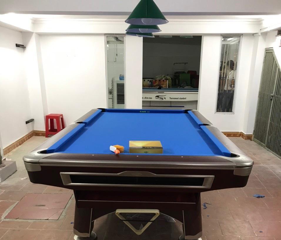 Billiards Hoàn Thúy lắp đặt 2 bàn aileex 9020 tại Đông Kinh, TP Lạng Sơn