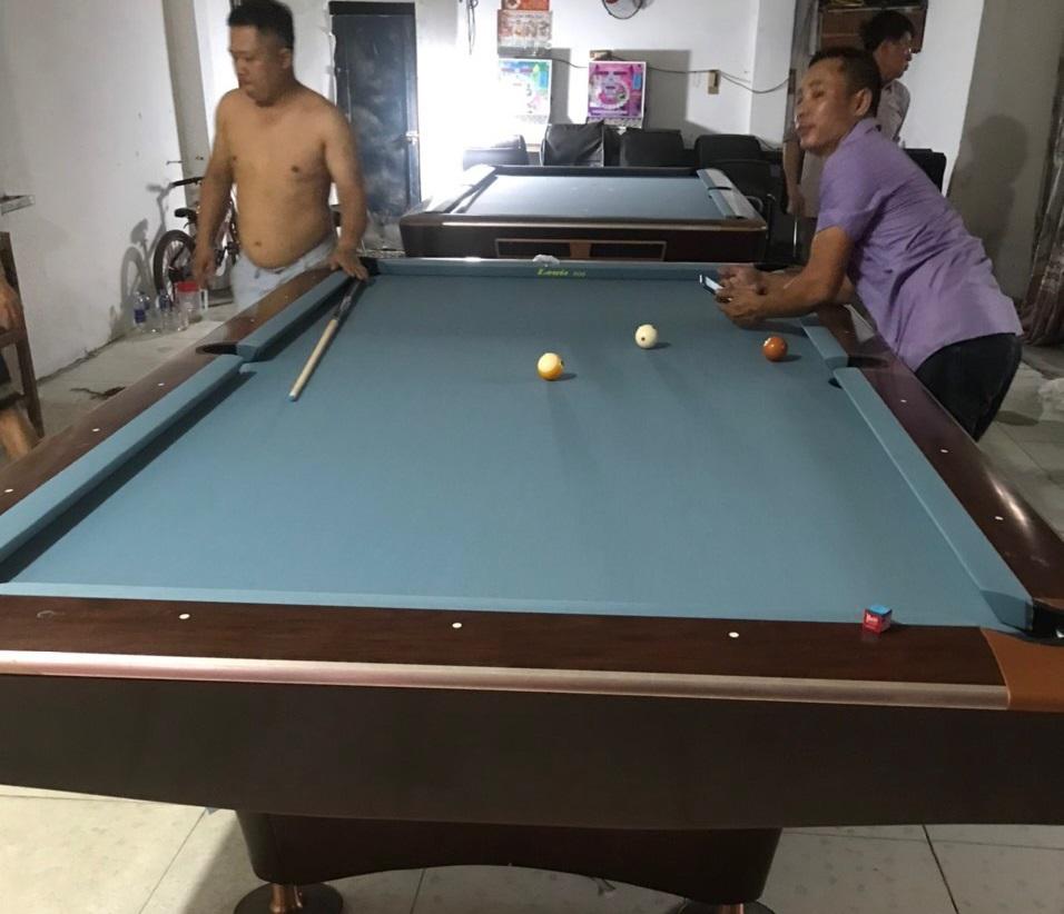 Billiards Hoàn Thúy lắp đặt 2 bàn seri 4 brunswick nhập lướt tại Sơn Dương, Tuyên Quang