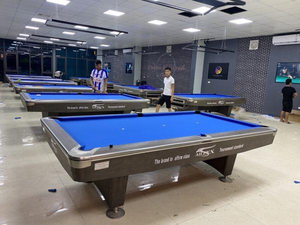 Bàn bida chuẩn thi đấu - Đánh giá bàn bi a đạt tiêu chuẩn chi tiết từng thể loại trong bộ môn billiards.