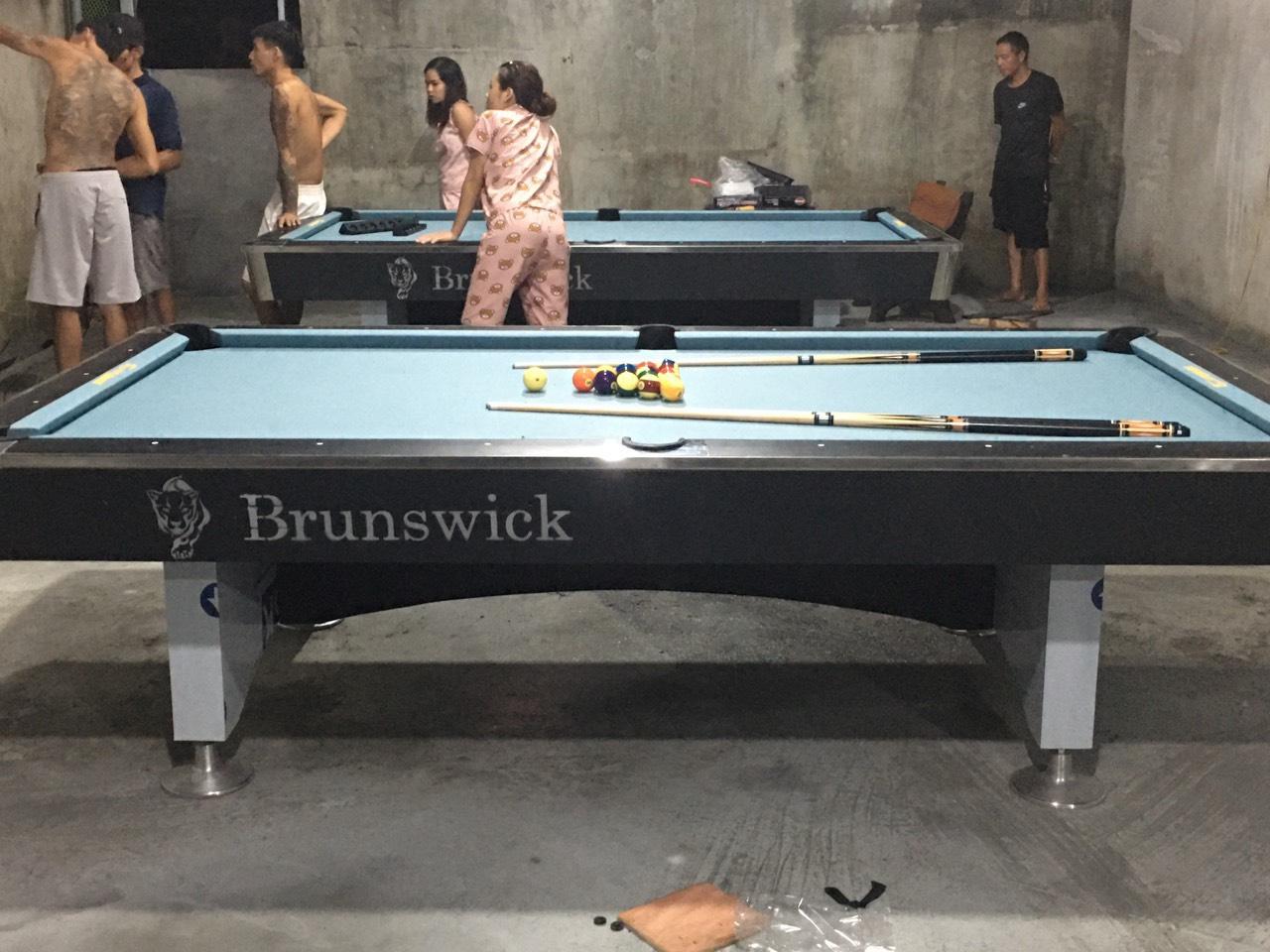 Billiards Hoàn Thúy lắp đặt 2 bàn 9018 tại Thượng Khê, Quốc Oai, Hà Nội