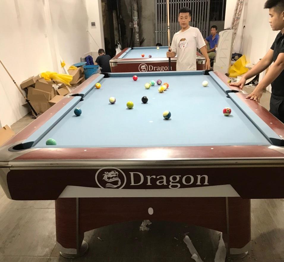 Billiards Hoàn Thúy lắp đặt 2 bàn 9019 và 9021 tại Hoài Đức, Hà Nội