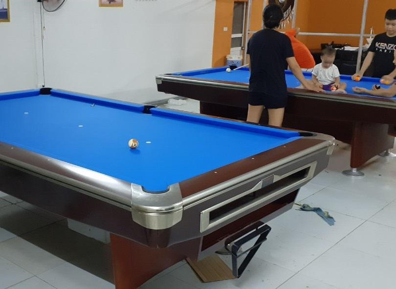 Billiards Hoàn Thúy lắp đặt 2 bàn aileex 9019 nhập lướt tại Đan Phượng, Hà Nội
