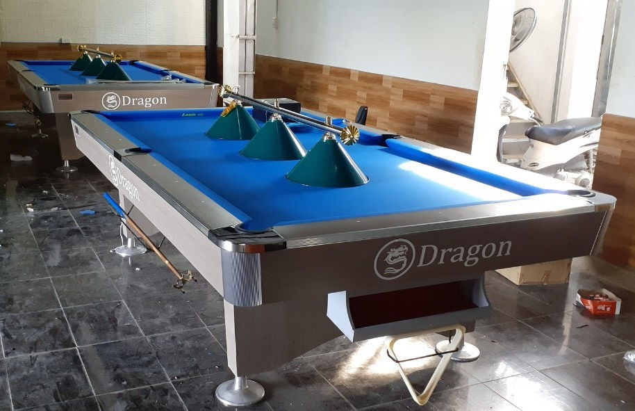 Billiards Hoàn Thúy lắp đặt 2 bàn Dragon tại Hoài Đức, Hà Nội