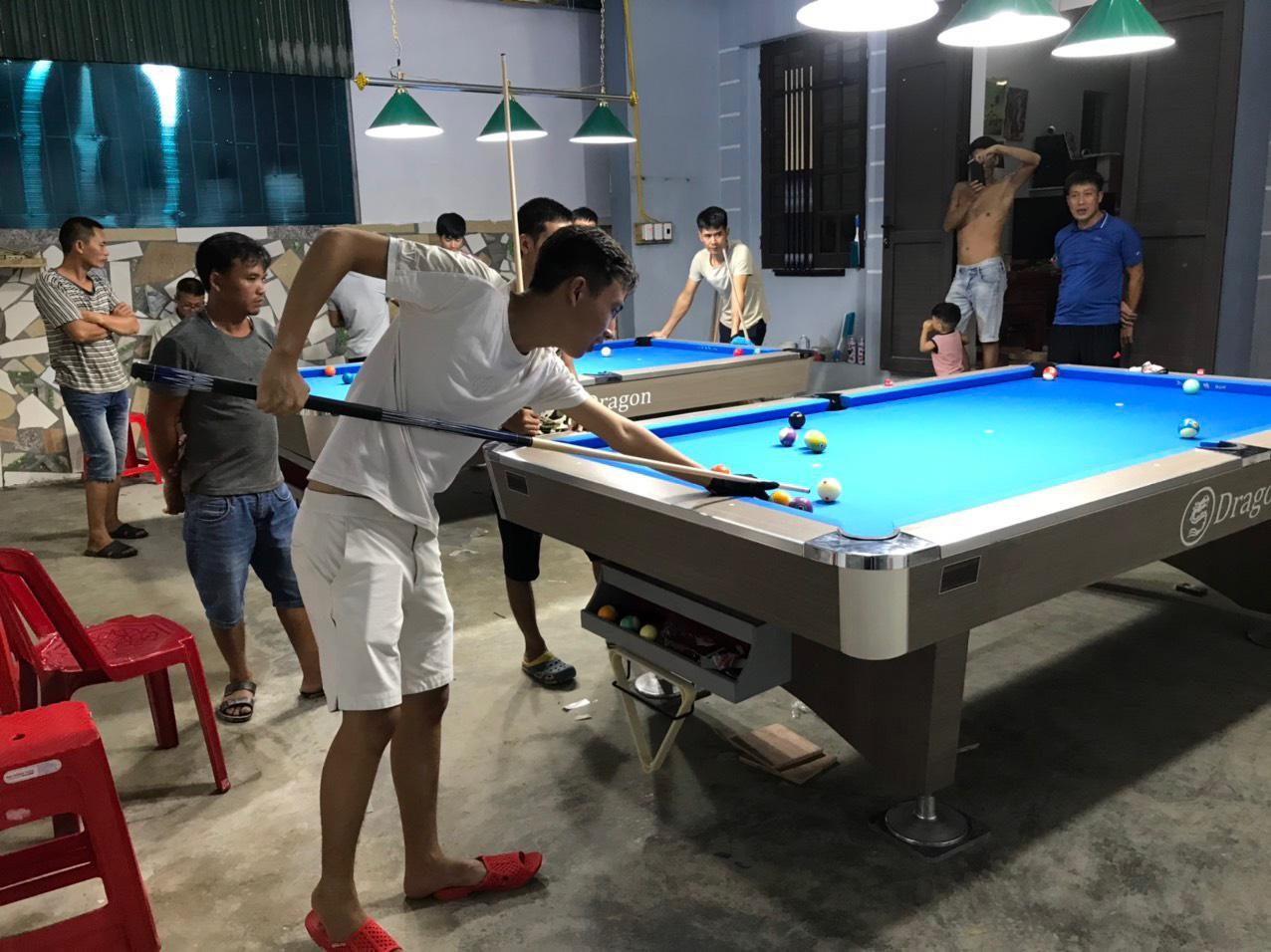 Billiards Hoàn Thúy lắp đặt 2 bàn Dragon tại Ý Yên, Nam Định