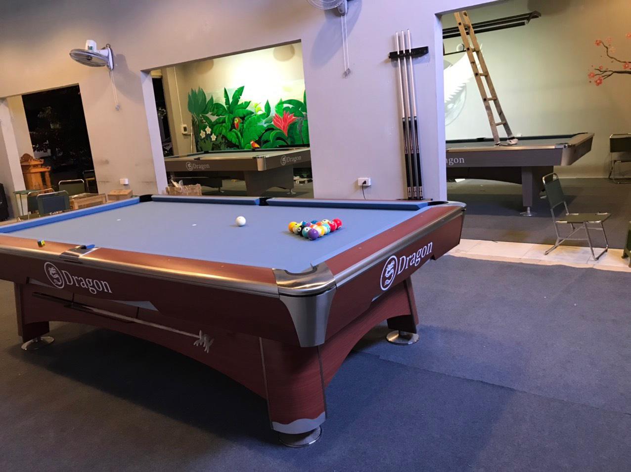 Billiards Hoàn Thúy lắp đặt 2 bàn dragon và bàn 9021 tại Hạ Long, Quảng Ninh