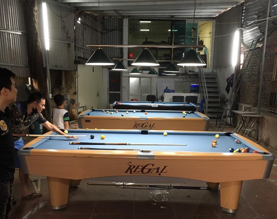 Billiards Hoàn Thúy lắp đặt 3 bàn 9017 nhập lướt tại Trung Văn, Hà Nội