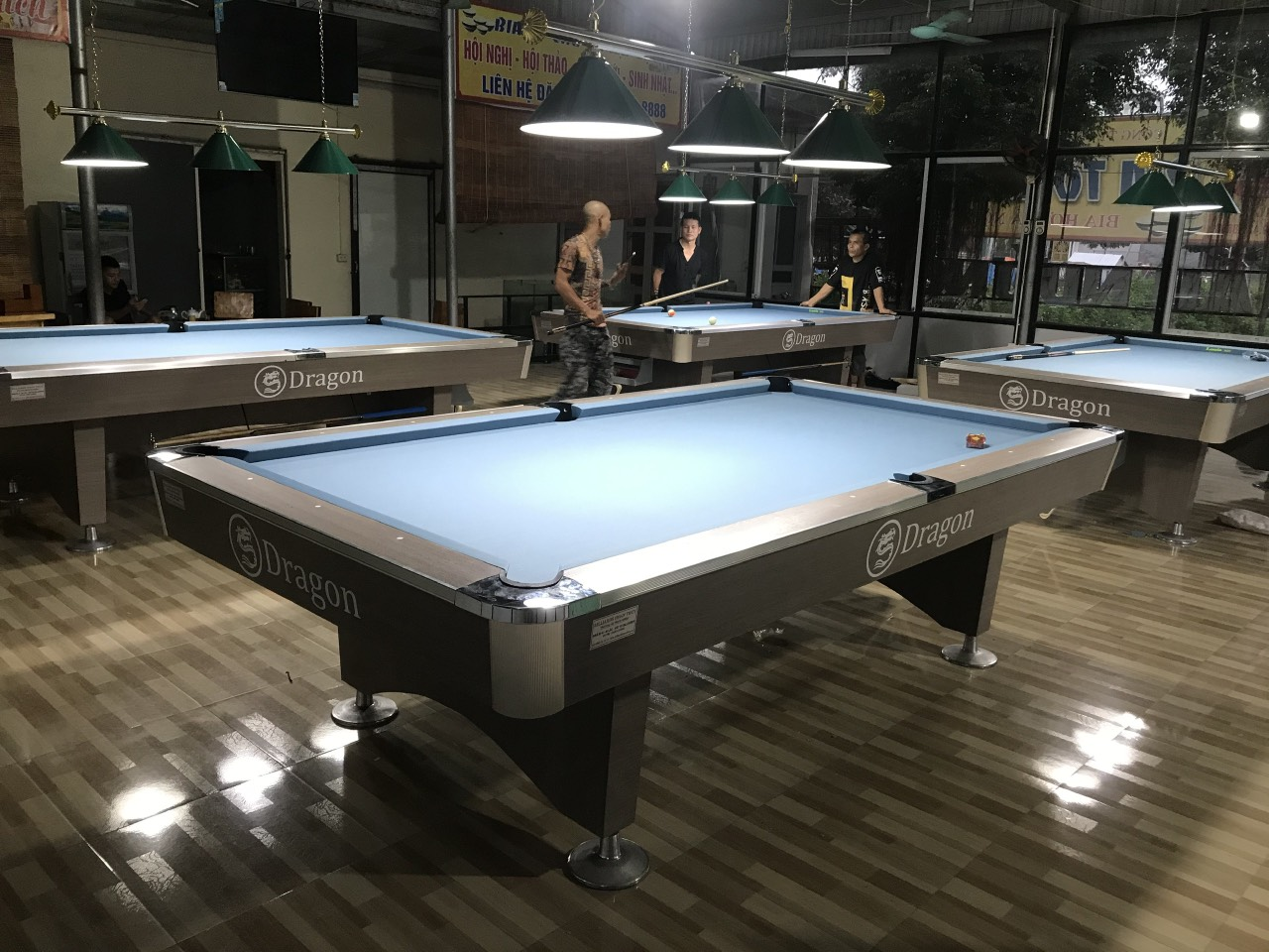 Billiards Hoàn Thúy lắp đặt 4 bàn Dragon tại Yên Khánh, Ninh Bình