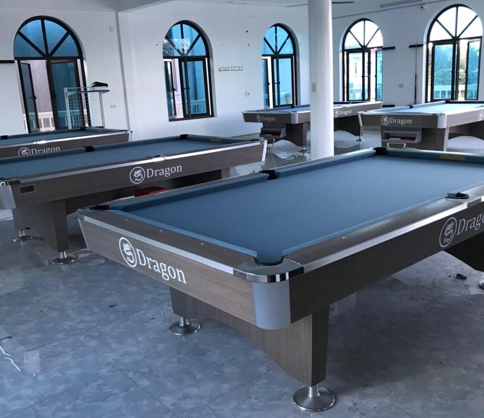 Billiards Hoàn Thúy lắp đặt 5 bàn Dragon tại Can Lộc, Hà Tĩnh