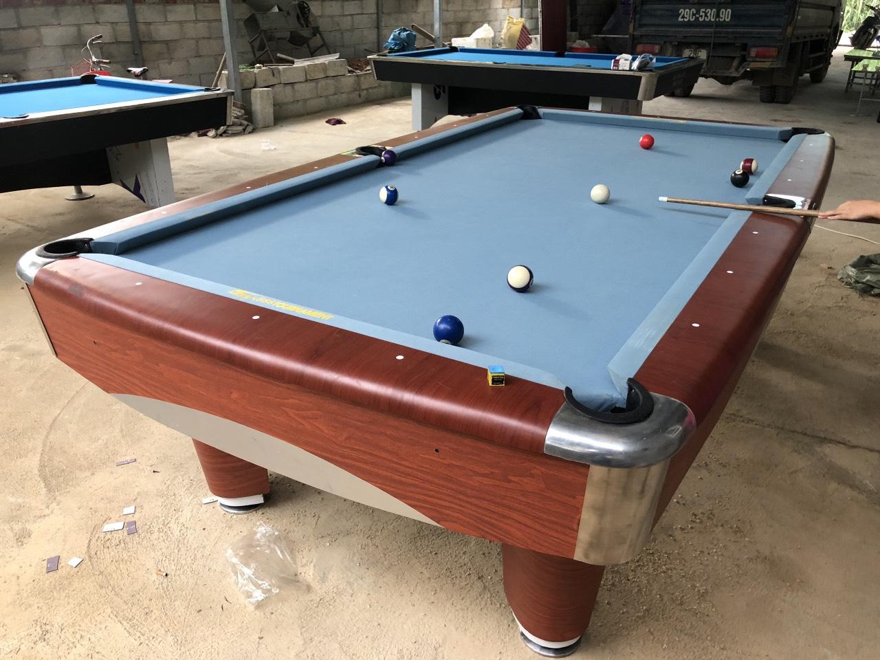 Billiards Hoàn Thúy lắp đặt thêm 3 bàn 9017, 9018 tại Tà Lùng, Cao Bằng