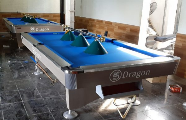 Mua bàn bi a ở đâu Hà Nội - Billiards Hoàn Thúy lắp đặt 2 bàn Dragon tại Hoài Đức, Hà Nội