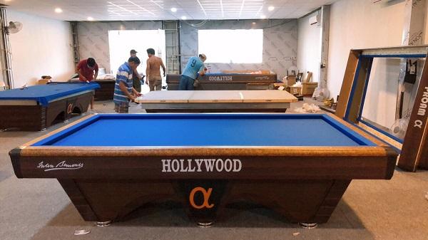 Bàn bida Hollywood 2021