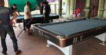 Billiards Hoàn Thúy lắp đặt 2 bàn bi a 9018 tại Hưng Yên