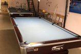 Bàn bida nhập khẩu giá rẻ hàng chất tại Billiards Hoàn Thuý