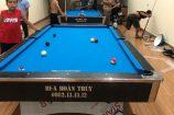 Billiards Hoàn Thúy lắp đặt 2 bàn 9018 tại Thuỵ Dương, Thái Thuỵ, Thái Bình